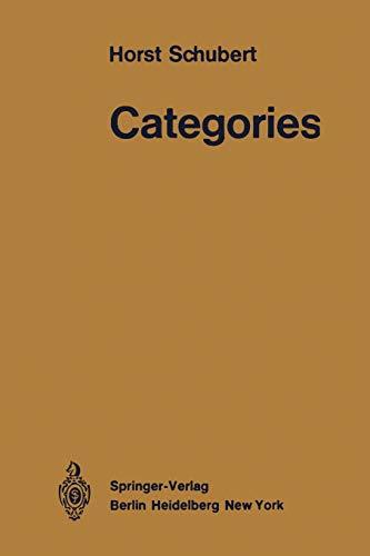9783642653667: Categories