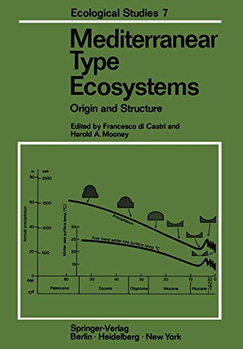 9783642655227: Mediterranean Type Ecosystems: Origin and Structure (Ecological Studies)