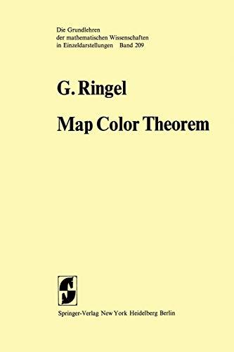 9783642657610: Map Color Theorem (Grundlehren der mathematischen Wissenschaften)