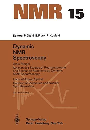 9783642669637: Dynamic NMR Spectroscopy (NMR Basic Principles and Progress)
