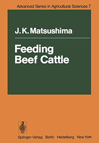 9783642672019: Feeding Beef Cattle (Advanced Series in Agricultural Sciences)