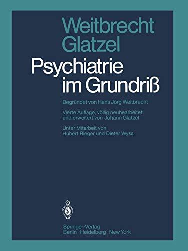 9783642673726: Psychiatrie im Grundriß (German Edition)