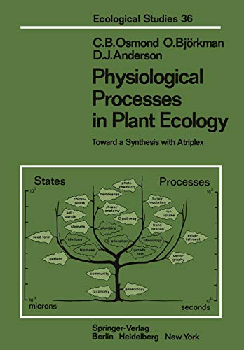 9783642676390: Physiological Processes in Plant Ecology: Toward a Synthesis with Atriplex (Ecological Studies)