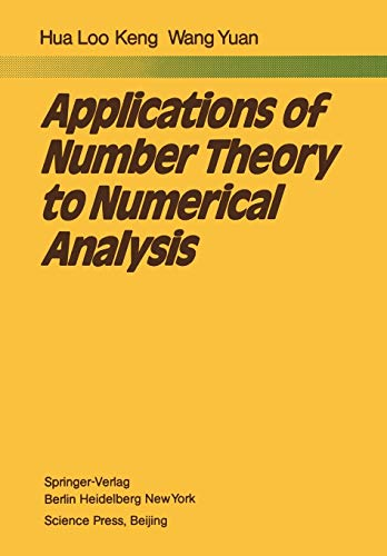9783642678318: Applications of Number Theory to Numerical Analysis