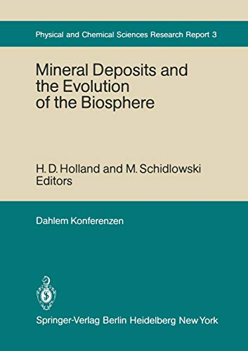 Mineral Deposits and the Evolution of the: Button, A.; Oehler,