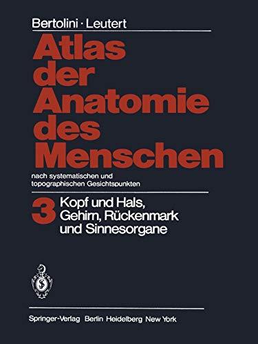 systematische anatomie des menschen von bertolini - ZVAB