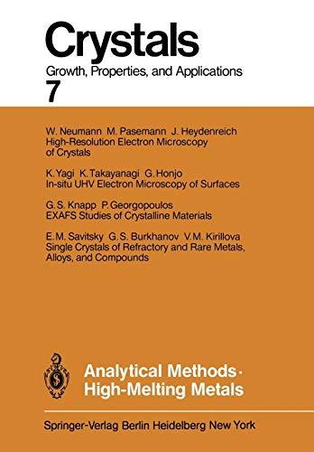 Analytical Methods High-Melting Metals