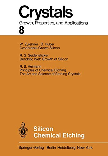 9783642687679: Silicon Chemical Etching (Crystals)
