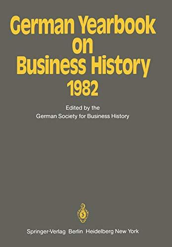German Yearbook on Business History 1982: Springer