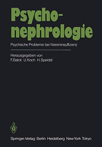 9783642696817: Psychonephrologie: Psychische Probleme bei Niereninsuffizienz (German Edition)