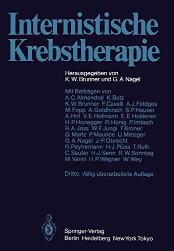 9783642697135: Internistische Krebstherapie (German Edition)