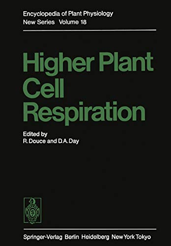 9783642701030: Higher Plant Cell Respiration (Encyclopedia of Plant Physiology)