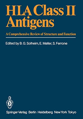 9783642703690: HLA Class II Antigens: A Comprehensive Review of Structure and Function