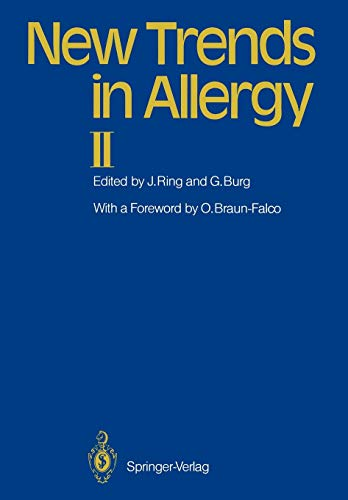 9783642713187: New Trends in Allergy II
