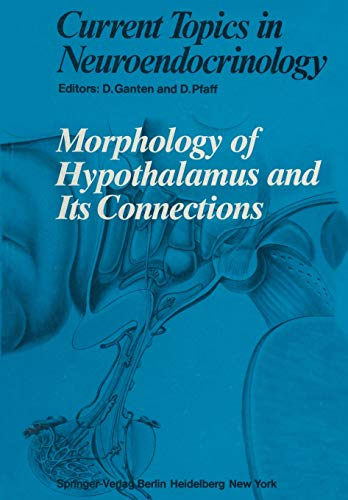 9783642714634: Morphology of Hypothalamus and Its Connections (Current Topics in Neuroendocrinology)