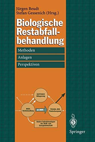 9783642721663: Biologische Restabfallbehandlung: Methoden, Anlagen und Perspektiven