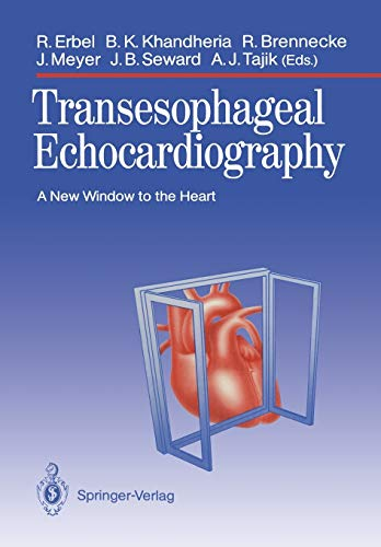9783642742590: Transesophageal Echocardiography: A New Window to the Heart