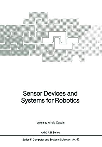 Sensor Devices and Systems for Robotics: Alicia Casals