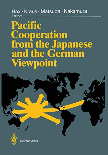 9783642750717: Pacific Cooperation from the Japanese and the German Viewpoint