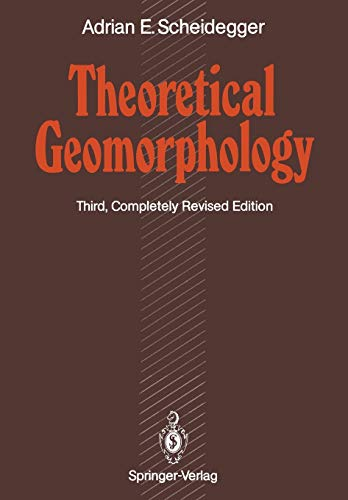9783642756610: Theoretical Geomorphology