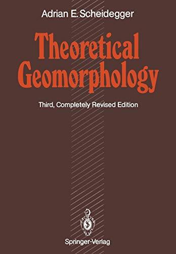 9783642756610: Theoretical Geomorphology
