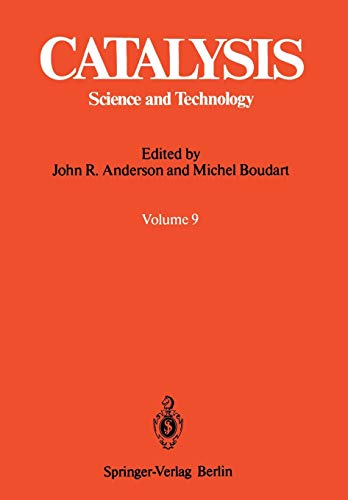 Catalysis: Science and Technology: John R. Anderson