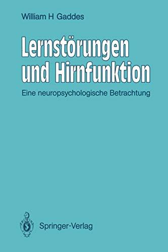 9783642760068: Lernstörungen und Hirnfunktion: Eine neuropsychologische Betrachtung