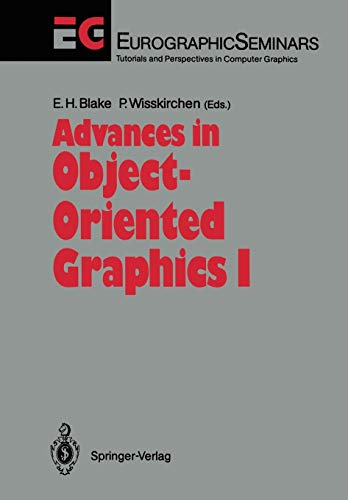 9783642763052: Advances in Object-Oriented Graphics I (Focus on Computer Graphics)
