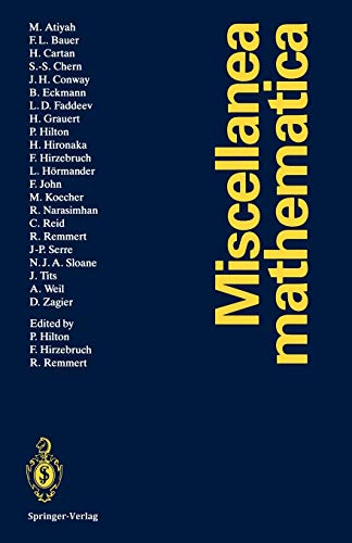 9783642767111: Miscellanea Mathematica (English, German and French Edition)