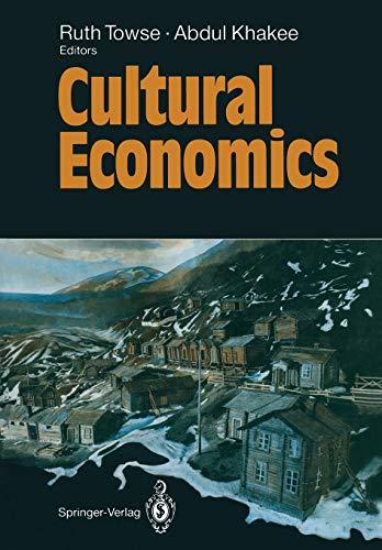 9783642773303: Cultural Economics