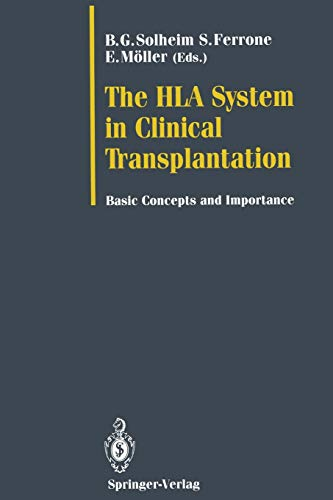 9783642775086: The HLA System in Clinical Transplantation: Basic Concepts and Importance