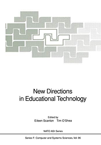 9783642777523: New Directions in Educational Technology (Nato ASI Subseries F:)