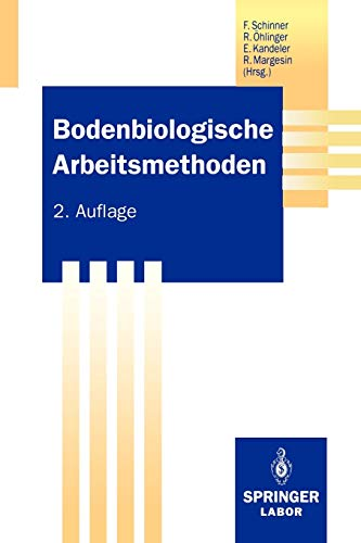 9783642779374: Bodenbiologische Arbeitsmethoden (Springer Labormanuale) (German Edition)