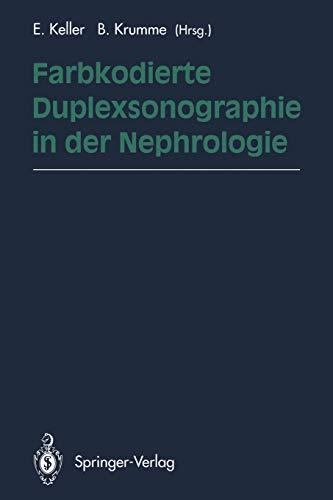 9783642786983: Farbkodierte Duplexsonographie in der Nephrologie