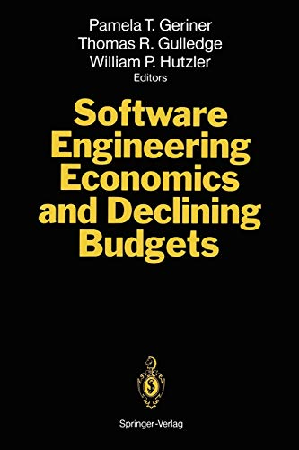 9783642788802: Software Engineering Economics and Declining Budgets