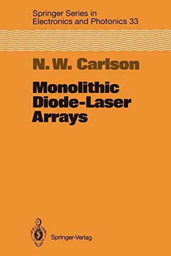 9783642789441: Monolithic Diode-Laser Arrays (Springer Series in Electronics and Photonics)