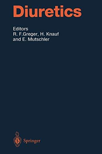 9783642795671: Diuretics (Handbook of Experimental Pharmacology)