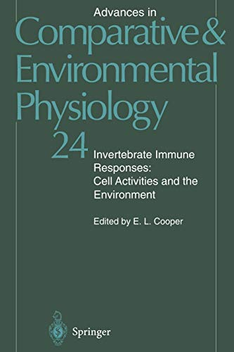 9783642798498: Invertebrate Immune Responses: Cell Activities and the Environment (Advances in Comparative and Environmental Physiology)