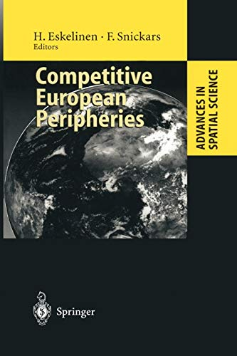 9783642799570: Competitive European Peripheries (Advances in Spatial Science)