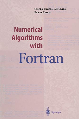 9783642800450: Numerical Algorithms with Fortran