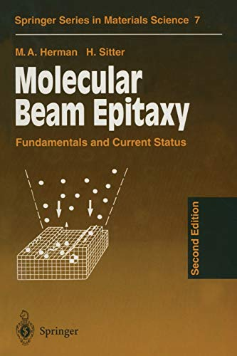 9783642800627: Molecular Beam Epitaxy: Fundamentals and Current Status (Springer Series in Materials Science)