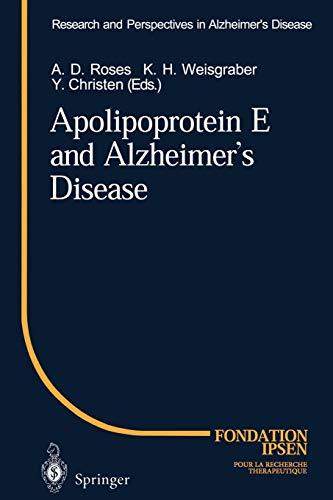 9783642801112: Apolipoprotein E and Alzheimer's Disease