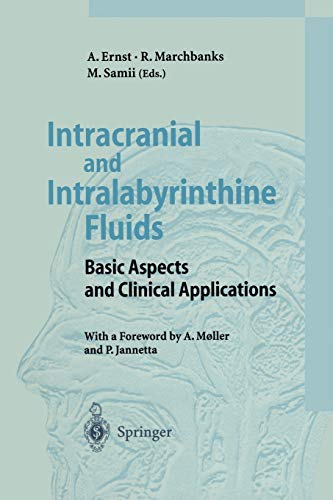 9783642801655: Intracranial and Intralabyrinthine Fluids: Basic Aspects and Clinical Applications