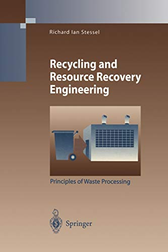 9783642802218: Recycling and Resource Recovery Engineering: Principles of Waste Processing (Environmental Science and Engineering)