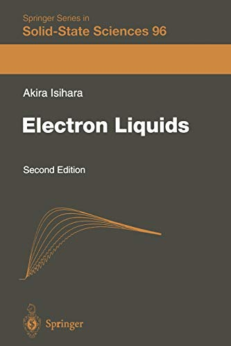 9783642803949: Electron Liquids (Springer Series in Solid-State Sciences)