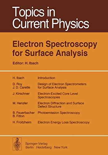 9783642811012: Electron Spectroscopy for Surface Analysis (Topics in Current Physics)