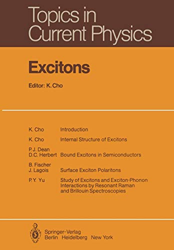 9783642813702: Excitons (Topics in Current Physics)