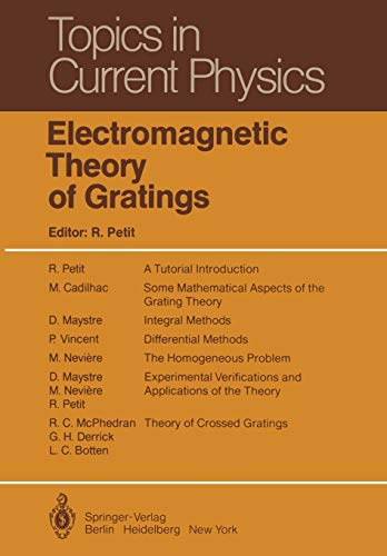 9783642815027: Electromagnetic Theory of Gratings (Topics in Current Physics (22))
