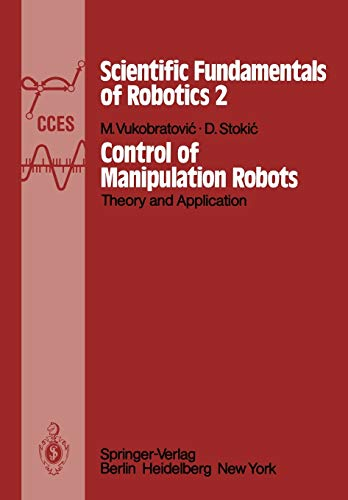 9783642818592: Control of Manipulation Robots: Theory and Application (Communications and Control Engineering)
