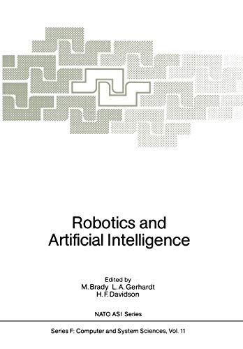 9783642821554: Robotics and Artificial Intelligence (Nato ASI Subseries F:)